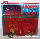 Snoopy & Woodstock on Skis Balance Toy