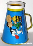 Snoopy, Lucy and Charlie Brown Megaphone - Blue