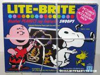 Peanuts Lite-Brite Pictures & Pegs Accessories Pack