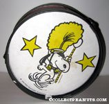 Snoopy Band Leader Tin Drum