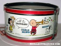 Peanuts Marching Band Tin Drum