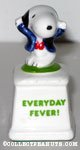 Snoopy Disco Dancer 'Everyday Fever' Ceramic Trophy