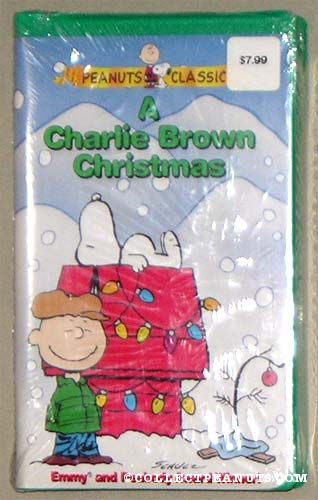 A Charlie Brown Christmas Vhs.Peanuts Paramount Video Tapes Collectpeanuts Com