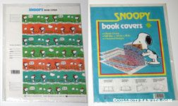 Peanuts & Snoopy Book Covers