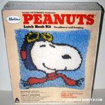 Snoopy Flying Ace Latch Hook Kit