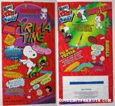 Snoopy & the Peanuts Gang Trivia Time Red Bag