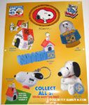 Peanuts & Snoopy Wendy's Toys and Promotional Items