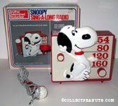 Snoopy sing-a-long Radio