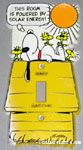 Peanuts & Snoopy Switch Plates