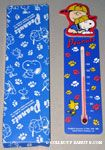 Baseball Snoopy, Charlie Brown & Woodstock Wooden Thermometer