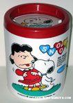 Snoopy kissing Lucy desktop Wastebasket