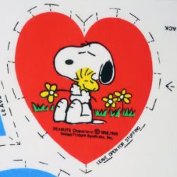 Click to view Snoopy Fabric and Notions