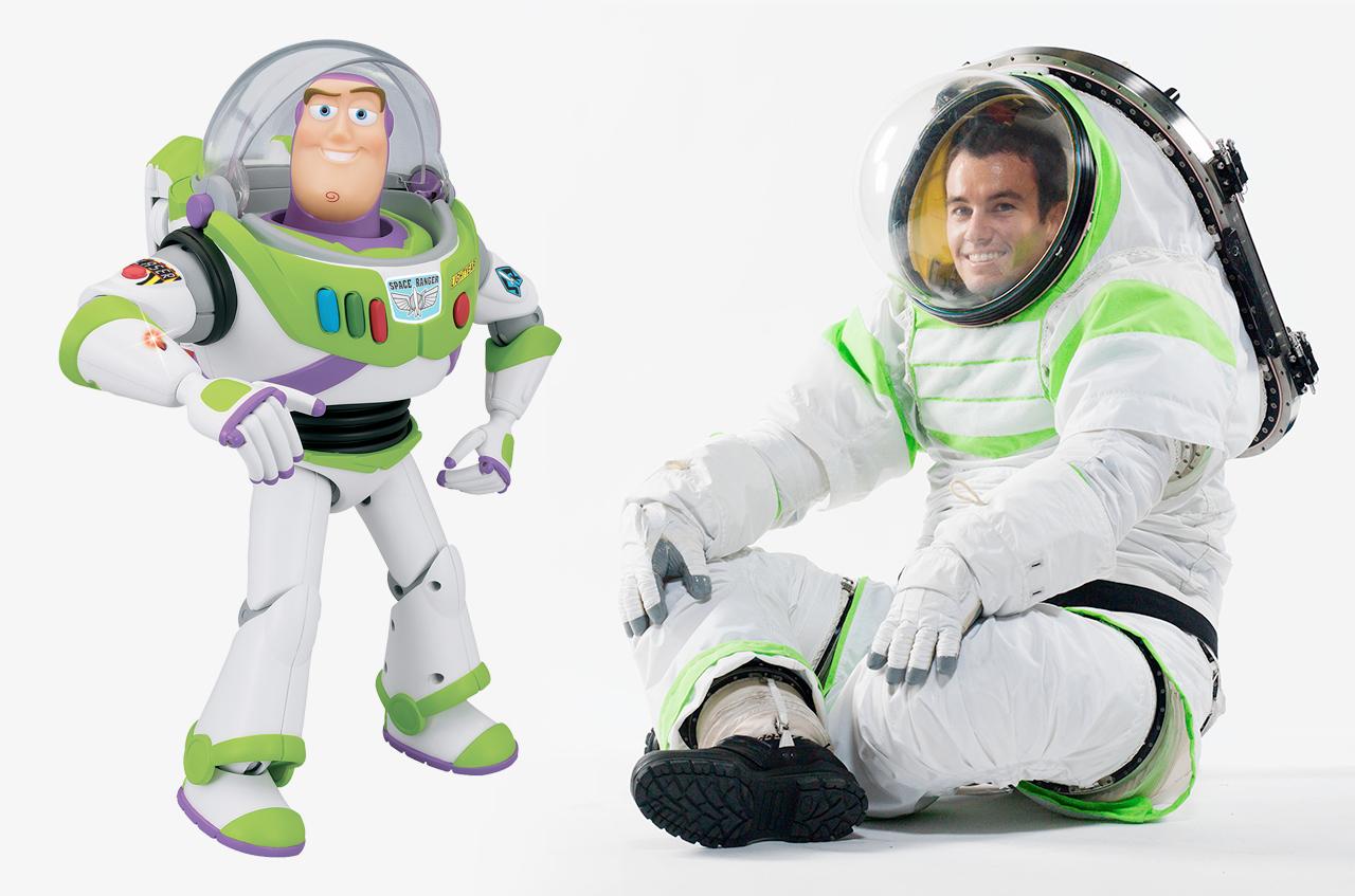 Nasa S Prototype Spacesuit Borrows From Buzz Lightyear
