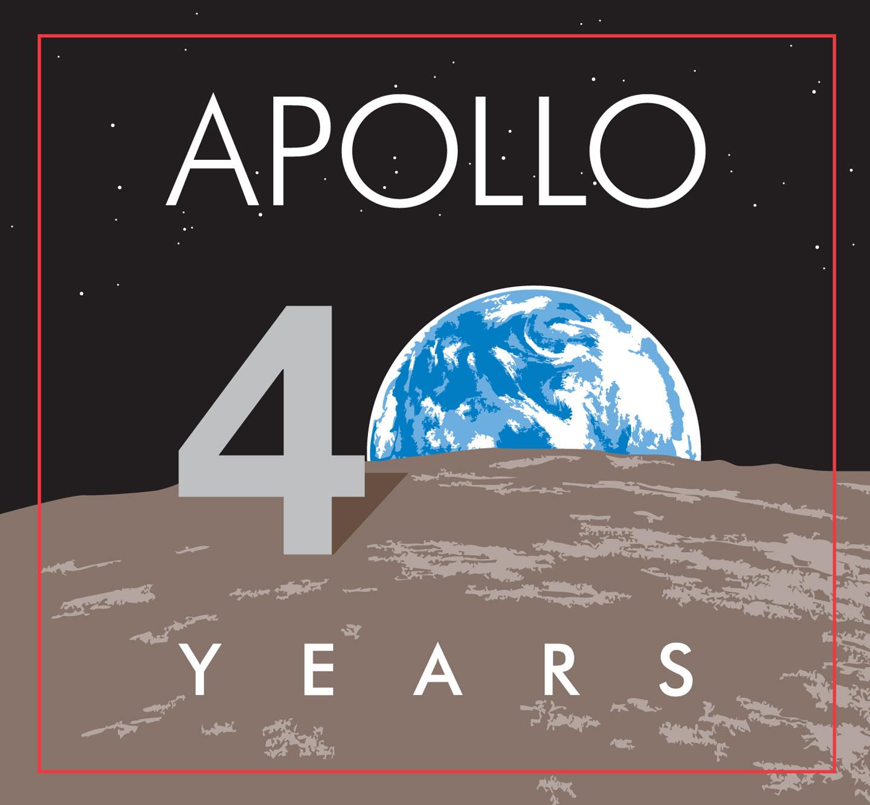 Il Logo per ricordare 40 anni dallo sbarco sulla Luna