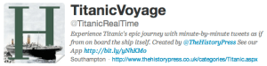 Digital History Tools: Using Twitter For Historical Reenactment
