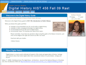 SAMi digital history guide