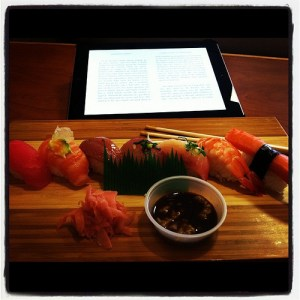 Ebook with Sushi 2012