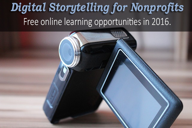 Video Storytelling Training for Nonprofits in 2016