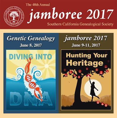 SCGS Genealogy Jamboree 2017