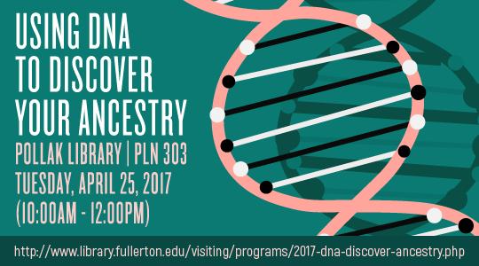 Event details for the April 2017 DNA program