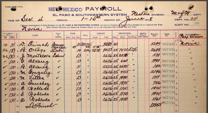 Ancestry-El-Paso-Southwestern-RR-Employment