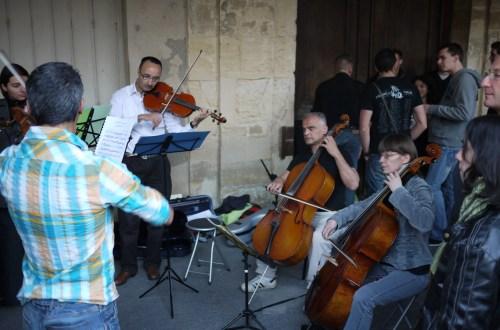 Mozart Place des Vosges Fete de la Musique