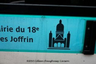 Electric Montmartre bus (Montmartrobus)