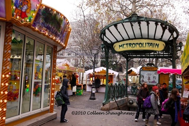 Place des Abbesses, Montmartre, Paris