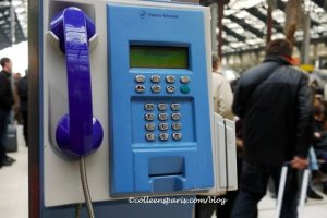 Telephone Gare de Lyon 06