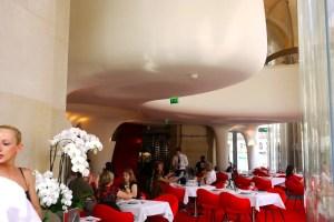 Interior of Opera Restaurant - Palais Garnier