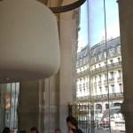 Interior of Opera Restaurant - Palais Garnier - Apple Store across the street