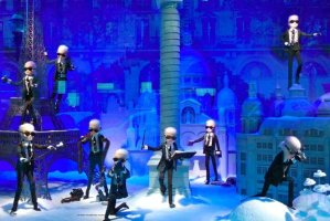 Printemps Christmas 2011 Chanel's creative Karl Lagerfeld in Paris