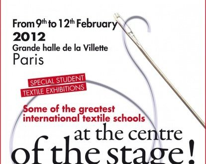 Paris Needlework Fair Poster Aiguille-en-Fete - English 2012