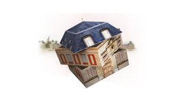 3D interactive game, Help Mansard choose his architectural design