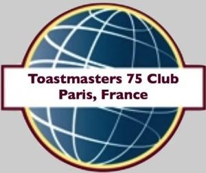 Toastmasters 75 Club, Paris, France, Toastmasters International