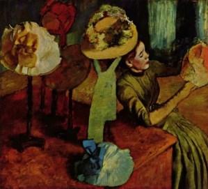 Chez la modiste (The Millinery Shop) 1879-1886, Edgar Degas