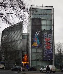 Institut du Monde Arabe exterior, Paris, 1 rue des Fossés-Saint-Bernard, place Mohammed-V