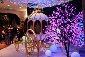 Cinderalla's carriage Galeries Lafayette Disney sponsor
