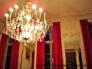 Chandelier at Jeunes Talents Hôtel Soubise