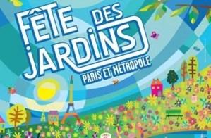 Affiche/Poster de la Fête des Jardins - Mairie de Paris / Conception graphique : Olivier Rat