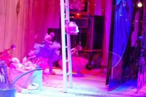Galeries Lafayette Christmas Windows 2013 girl's reflection in window