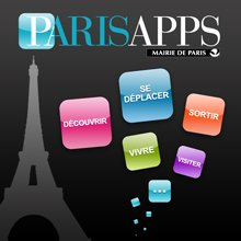 Icon for ParisApps for smartphone and tablet downloads