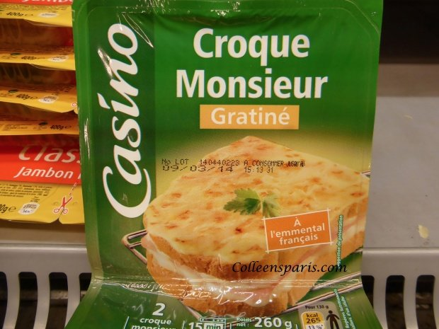ham and cheese sandwich the croque monsieur at the grocery store