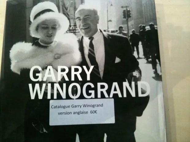 Garry Winogrand Catalog Cover