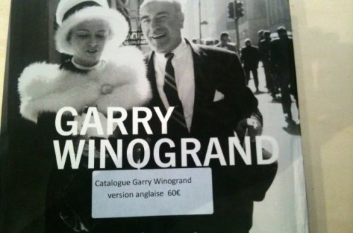 Garry Winogrand, Jeu de Paume exhibit, catalog cover, English version