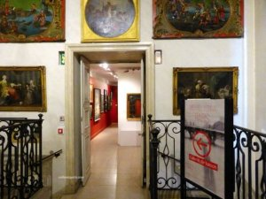 Carnavalet interior toward temporary exhibition of Michael Kenna