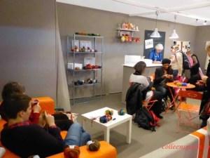 knitting workshop at aiguille en fete 2015