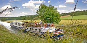 European Waterways photo-Barge travel on the rivers of France and more