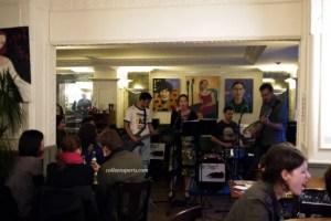 Jazz bar in Bastille rue de Charonne, les Slugs