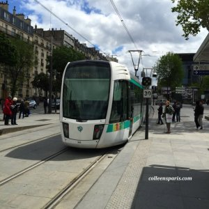 Tram T3a between Pont du Garigliano and Porte de Vincennes